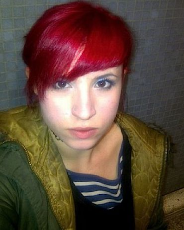 British writer Laurie Penny.