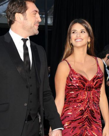 Penelope Cruz a month after giving birth