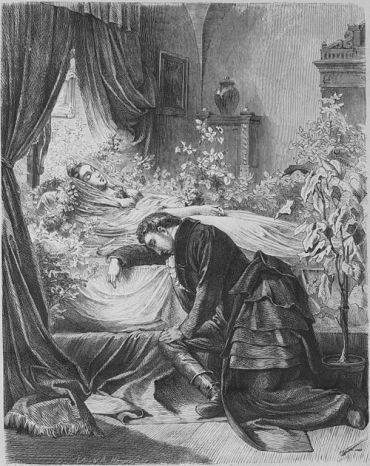 Jew and Poet: This is an illustration from the 1866 edition of ?Remembering Daniel Lessmann.?