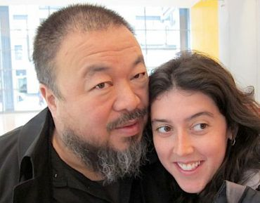 She Won, and She?s Not Sorry: Ai Weiwei with Alison Klayman, director of a Sundance award-winning documentary about him.