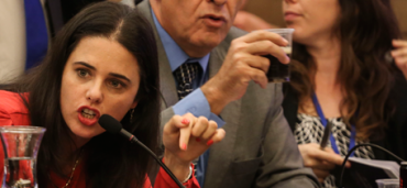 Ayelet Shaked of the Jewish Home Party is one of 28 women elected to the Knesset.