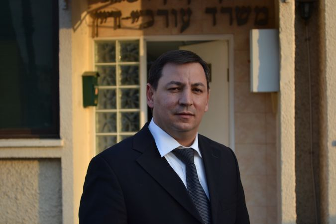 Working the Legal Front: Attorney Ilan Vaknin, who represents 10 Jewish families who lost an auction for tenders to build homes in Afula, says he and his clients 'want to keep the Jewish character' of the city. He is calling for an investigation into where the Arab families who won the bids got their money.