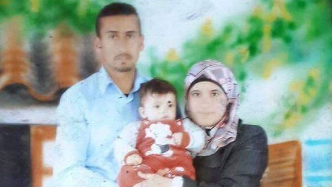 Palestinian mother buried