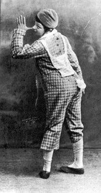 Molly Picon: Performs in ?Shmendrik? in 1924.