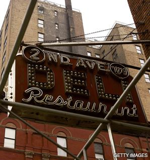 TWIN DOUBLES: The Mamele ate her last meal before giving birth to Josie at the original location of the legendary 2nd Avenue Deli. The restaurant recently reopened on East 33rd Street.