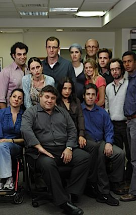 Ha?Misrad: The cast of the Israeli version of ?The Office.?