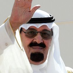 Anger: Saudi King Abdullah, when speaking about the Iranians, urged America to ?cut off the head of the snake.?