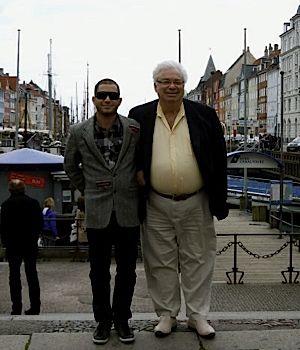 Adam and Joseph Moskowitz in Copenhagen
