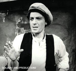 Golden Boy: Adler in a production of ?The Golden Land.?