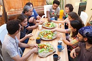 A new project in Tel Aviv brings together African migrants and hungry Israelis to talk and learn from one another.