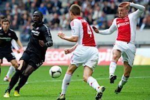 Dutch Boys: Ajax won its 31st National League title this year.