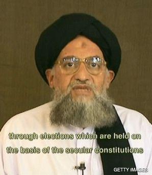 ZAWAHIRI: Urging militants to escalate attacks on Israel.