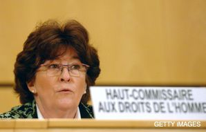 On the Way Out: Louise Arbour will be stepping down in June from her post atop the U.N. high commissioner for human rights.