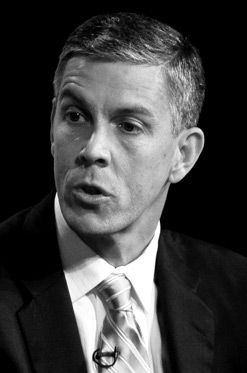 Persuaded?: After a conversation with Education Secretary Arne Duncan (above), a supporter of the amendment says he is ?more than cautiously optimistic.?