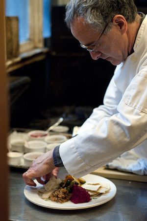 Foodways: Chef Peter Hoffman of Savoy will create a Central Asian Seder.