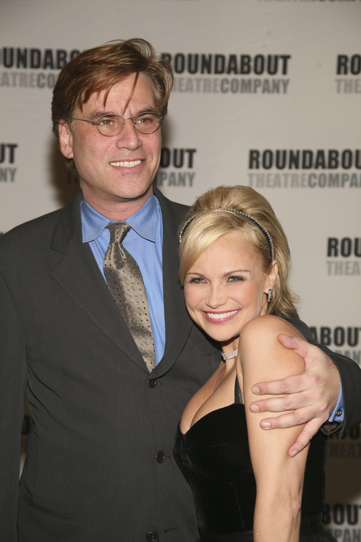 Chenoweth with Sorkin in 2006