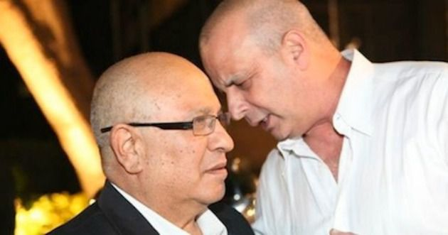 ?Arguably treasonous?? Former Israeli intelligence chiefs Meir Dagan of Mossad (left) and Yuval Diskin of Shin Bet