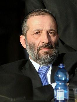 Shas chairman Aryeh Deri, January 2013