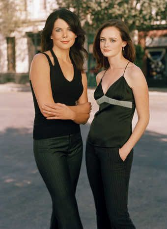 The TV show ?The Gilmore Girls? featured mother-daughter BFFs.