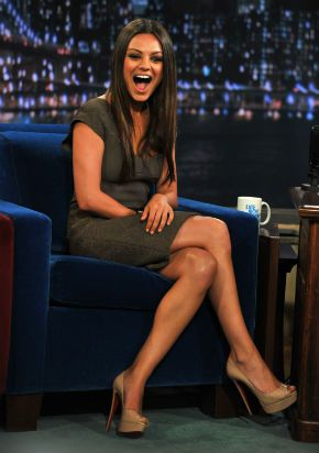 Knockout: Kunis on ?Late Night With Jimmy Fallon? in July