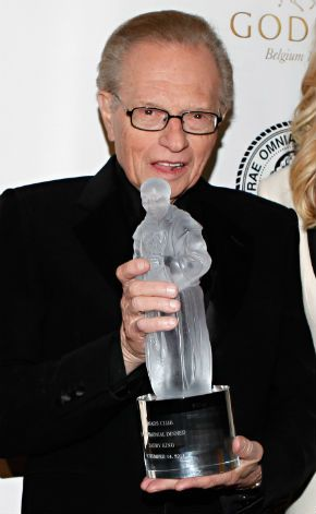 Alive and Well: Larry King at the 2011 Friars Club Testimonial dinner gala in November