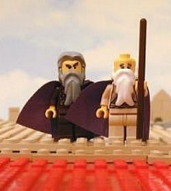 Some of the haggadahs featured on haggadot.com are serious and some are quirky, like this lego version of the Passover story.