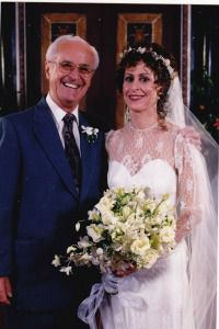 Malka Margolies and her father