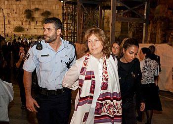 Anat Hoffman?s arrest last night