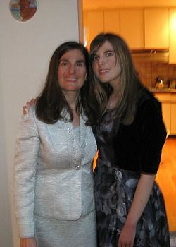 Emily Shire and her mom, Sharon Shire.