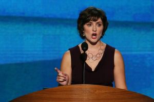 Sandra Fluke at the DNC