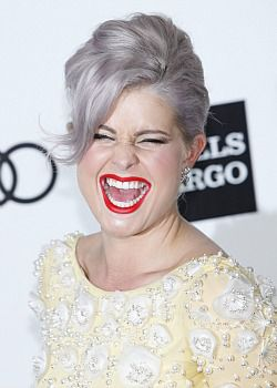 Kelly Osbourne went gray as a fashion statement, but would she do it au naturel?