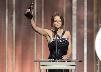 Out of Closet: Actress Jodie Foster receives the Cecil B. Demille Award at the 70th Annual Golden Globe Awards