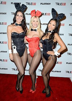 Watch out, Israel, Playboy bunnies are heading your way.