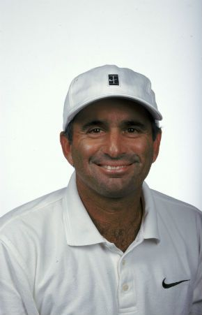 Tennis star Harold Solomon in 1999