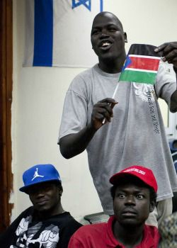 Two Flags: Immigrants from South Sudan meet over Israeli efforts to deport members of their community.