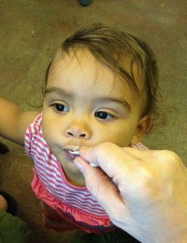 I Need You: Kids like Z enjoy Nutella-laced ice cream.