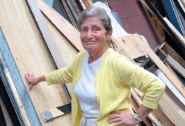 Irene Backalenick, 89, has been writing reviews of Jewish theater for over half a century.