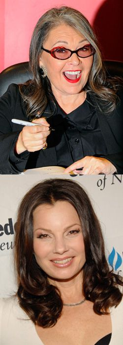Jewish actresses Roseanne Barr and Fran Drescher