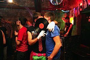 Berlin?s Next Generation: Israelis flock to a regularly held ?meschugge-party? at a club called Zur Moebelfabrik.