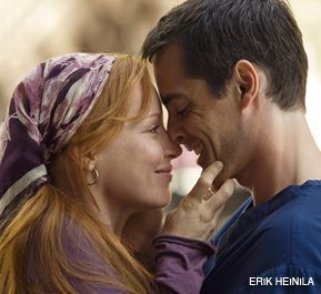 BIBLICAL TALE: Lauren Ambrose and Adam Kaufman star in the new movie.