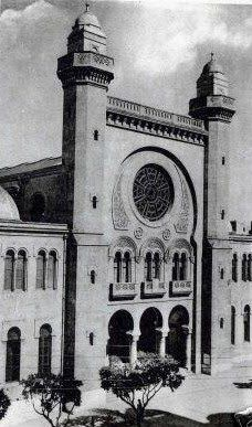 The synagogue of Oran, discussed in an article in Ars Judaica by Dominique Jarrassé.