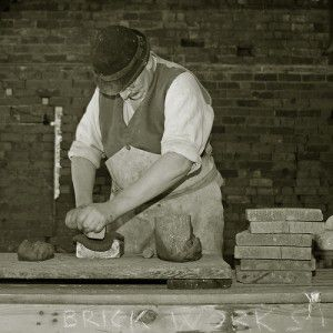 Brickmakers, Blists Hill Victorian Town, Ironbridge Gorge Museums, England. Flickr/Leo Reynolds