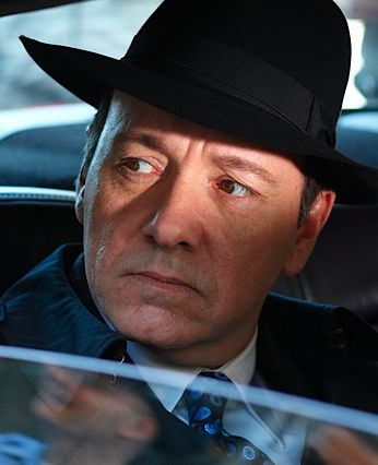 Kevin Spacey plays a mobbed-up Jack Abramoff, complete with black fedora.