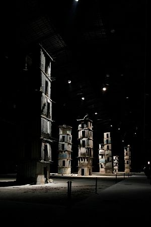?The seven heavenly palaces? by Anselm Kiefer at the Hangar Bicocca Contemporary Art Museum.