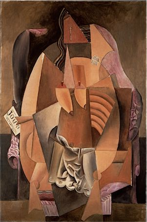 Pablo Picasso ?Woman in an Armchair (Eva),? 1913