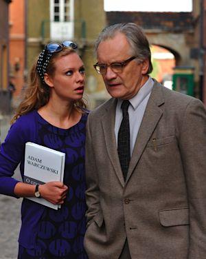 Kamila, aka ?Little Rose? (Magdalena Boczarska) with Adam Warczewski (Andrzej Seweryn).
