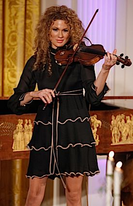 Miri Ben-Ari performs last month at the White House.