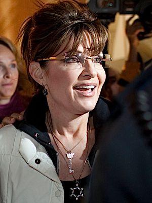 Sarah Palin in Israel.