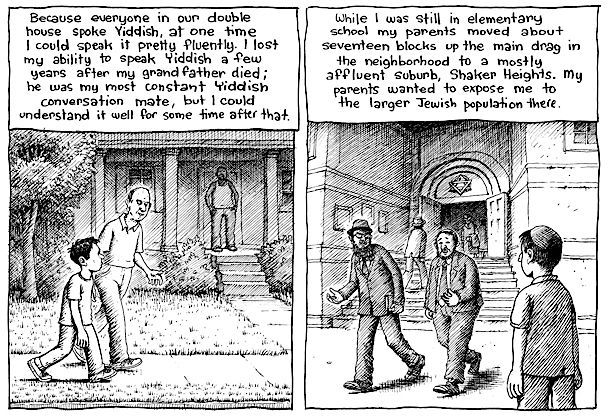 Harvey Pekar, Our Mensch in Cleveland by the Forward