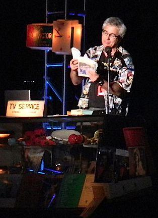 David Kipen reading from ?Gravity?s Rainbow.?